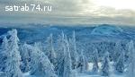 Домики на Зюраткуле на новый год