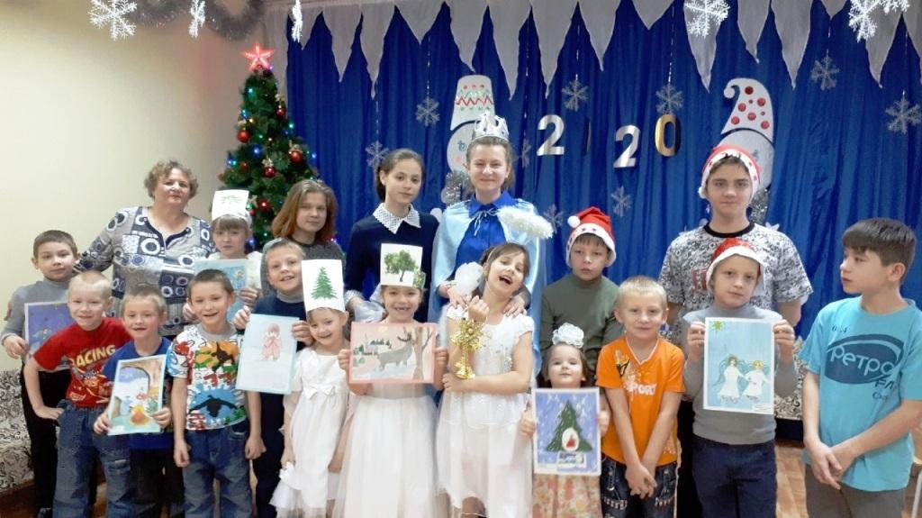 В реабилитационном центре Саткинского района отметили Рождество