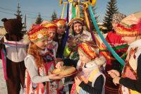 Масленицу встречает ансамбль народной песни