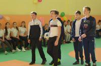 В школе Бердяуша капитально отремонтирован спортзал