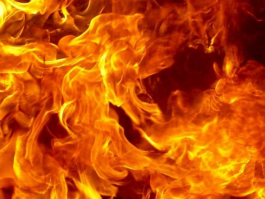 Сегодня ночью вБакале произошел пожар