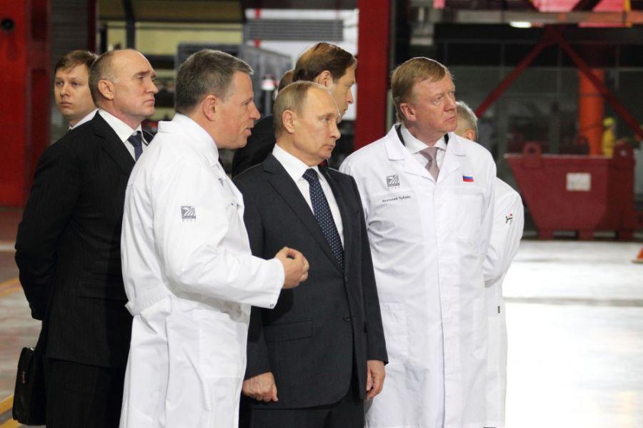 Президент РФ прибыл вЧелябинск