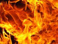 В саткинском кооперативе «Луч» горел гараж