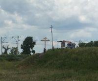 В Сулее установили поклонный крест