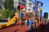Праздником двора в Сатке открыли новые площадки