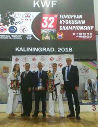 Саткинские каратисты привезли с чемпионата Европы «золото» и «бронзу»