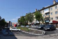 В этом дворе на улице Пролетарской обустроены внутридворовой проезд и стоянка.