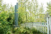 Фотофакт от читателя: кустарники скрывают разрушающуюся стелу