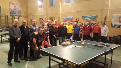В Сатке теннисист-юбиляр и его друзья провели турнир для спортсменов горнозаводской зоны