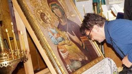 В Бердяуш прибыли две чудотворные иконы