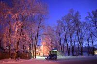 Зимнее очарование Бакала- 2. Вечер. ФОТОЗАРИСОВКА